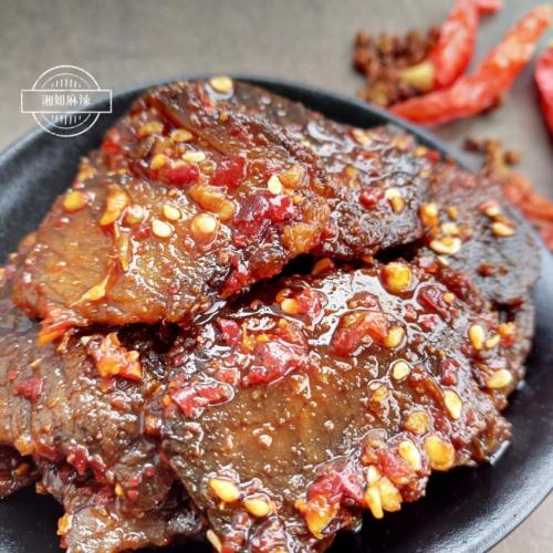 大片香辣牛肉